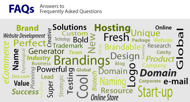 answers to frequently asked branding questions
