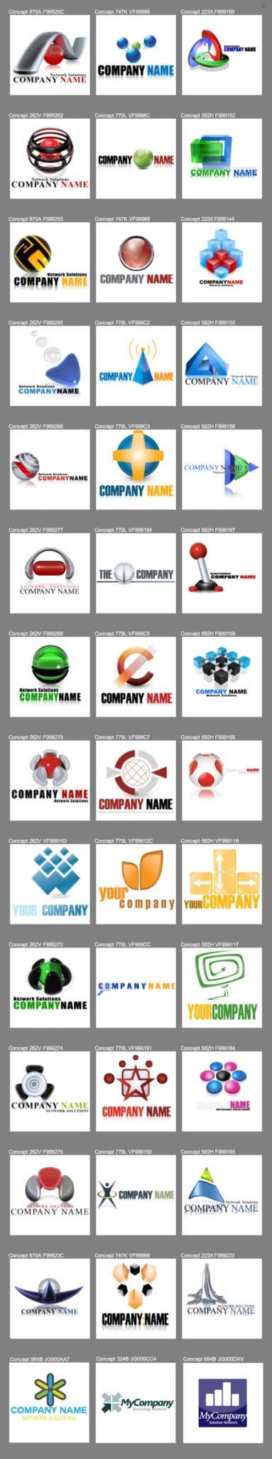 examples of a brand logo design
