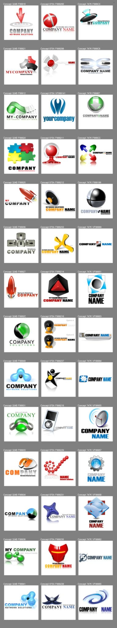 what kind of logos get the most attention